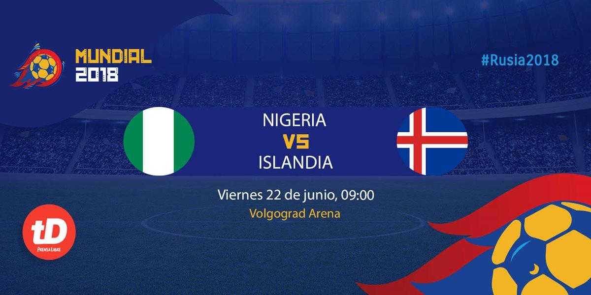 EN DIRECTO   Nigeria vs Islandia