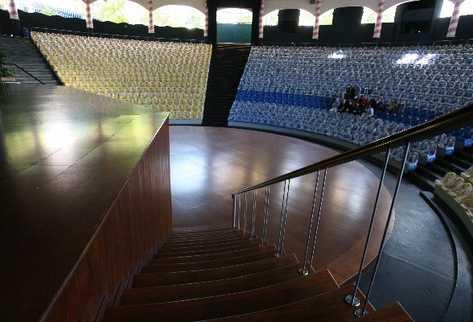 El teatro será la gran atracción del nuevo parque temático.