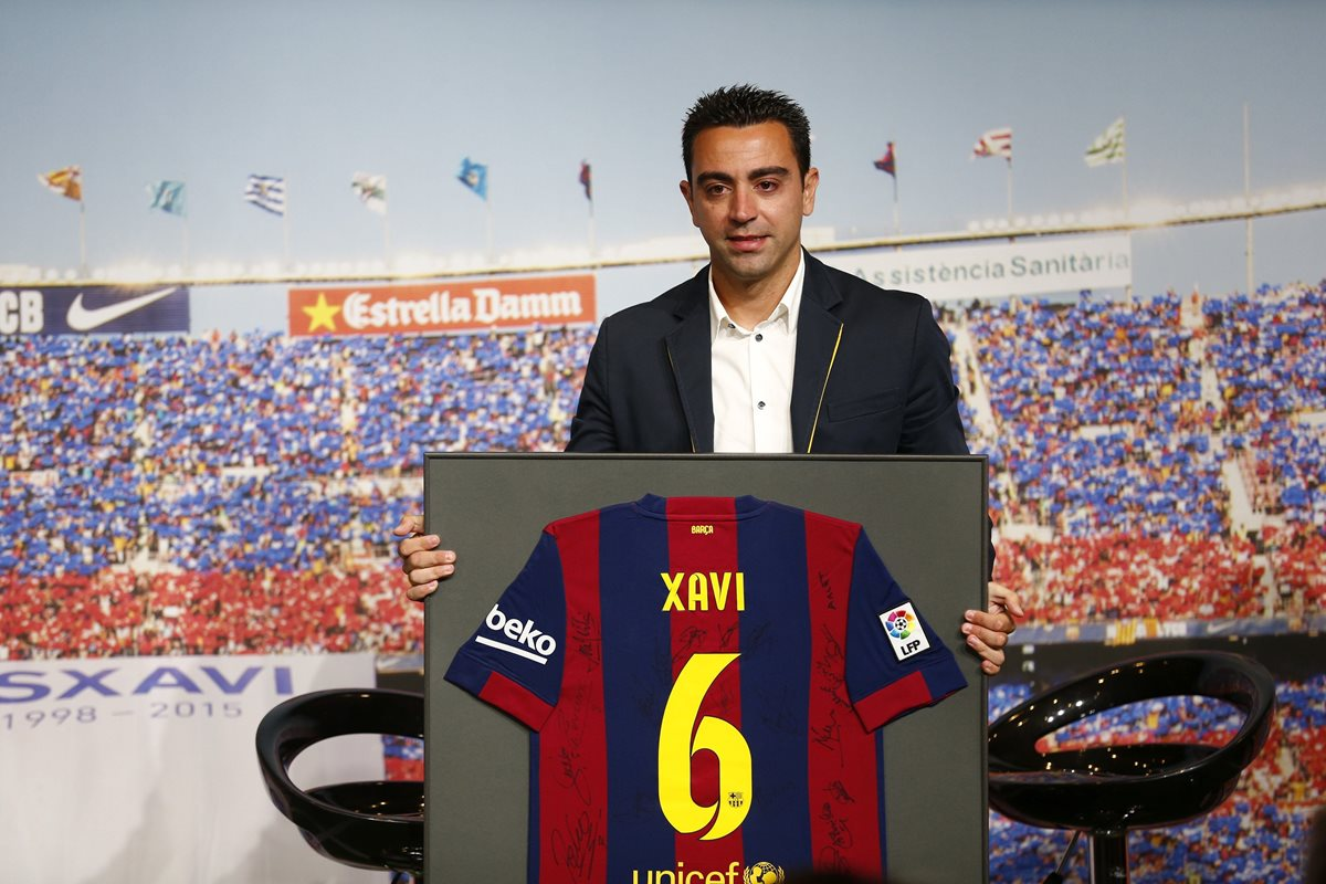 Xavi está agradecido por la dedicatoria de Modric al recoger el Balón de Oro