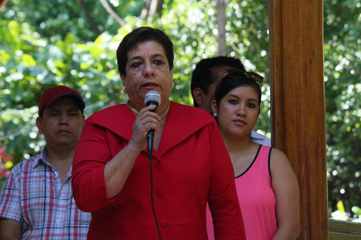 Audio revela cómo gobernadora de Suchitepéquez pedía plazas a exdirector de área de Salud