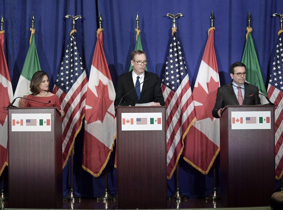 Exigencias de EE. UU. elevan las tensiones y dudas sobre el TLCAN