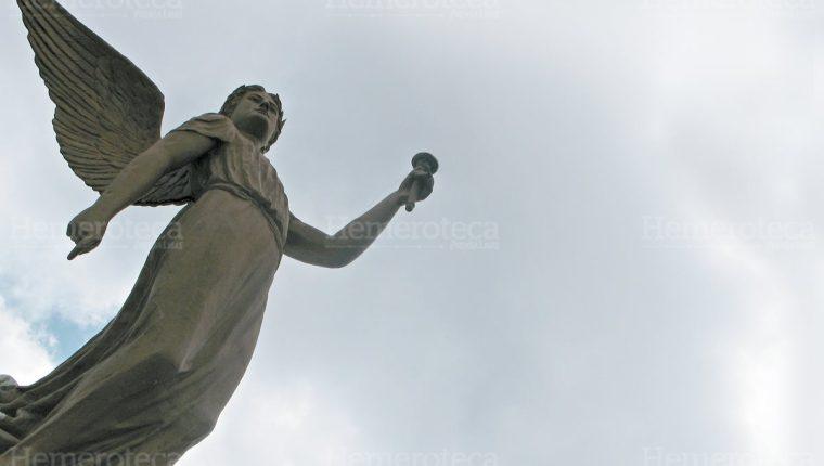 La figura de bronce fue traída de Nueva Orleans. (Foto: Hemeroteca PL)