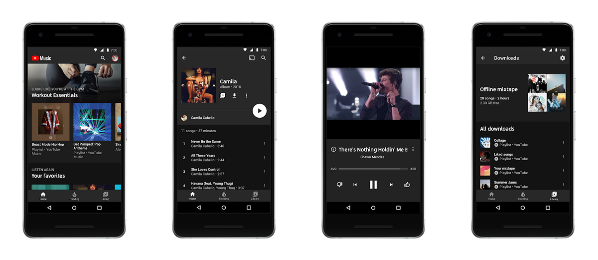 YouTube Premium y YouTube Premium Music buscan competir con Apple y Spotify (Foto Prensa Libre: YouTube).
