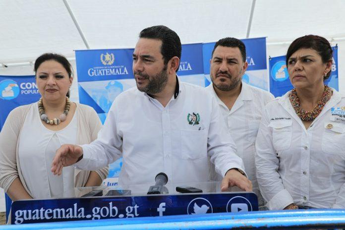 Presidente Jimmy Morales envía mensaje a Belice