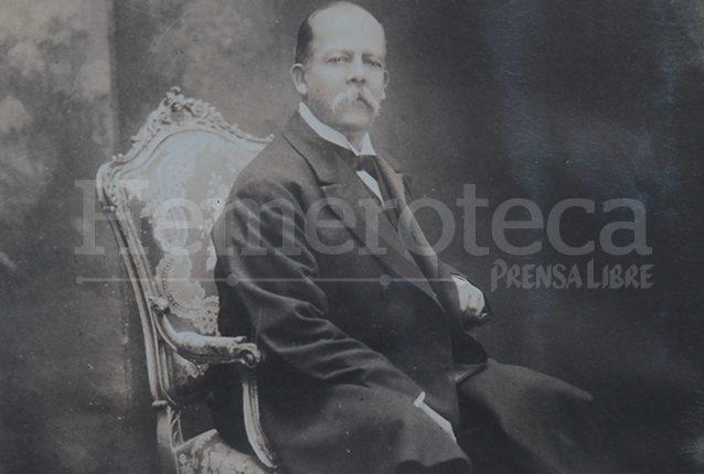 Manuel Estrada Cabrera se mantuvo en el poder de 1898 hasta 1920. (Foto: Hemeroteca PL)