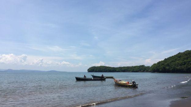 Según el alcalde García los estudios para el puerto de Amapala están, lo que falta son los inversionistas.