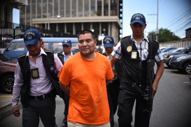 Santos López fue llevado a juicio después de ser extraditado de EE.UU. GETTY IMAGES