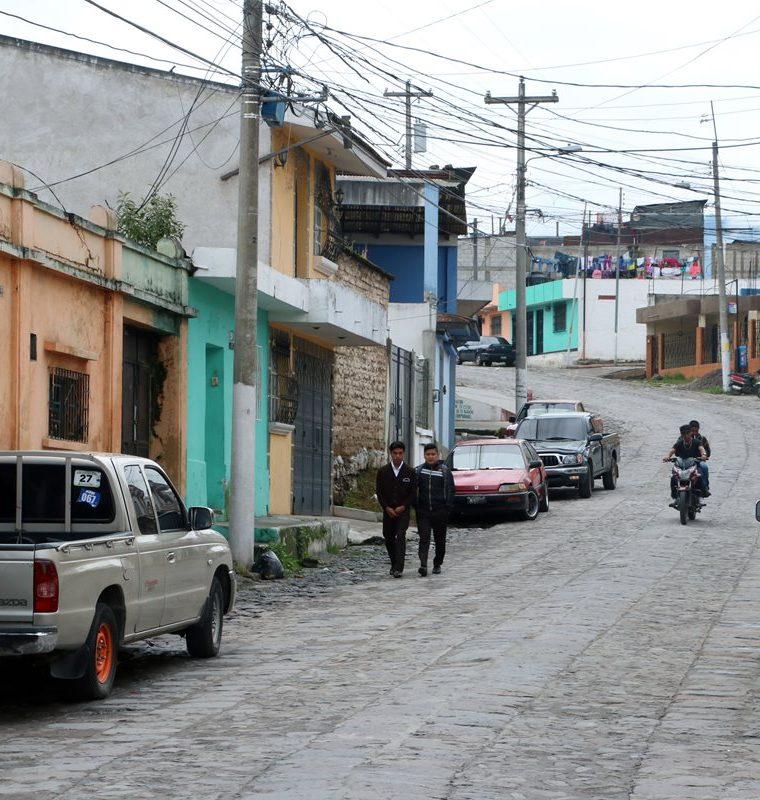 Barrio Las Flores, donde ocurrieron los hechos. (Foto Prensa Libre: Carlos Ventura)