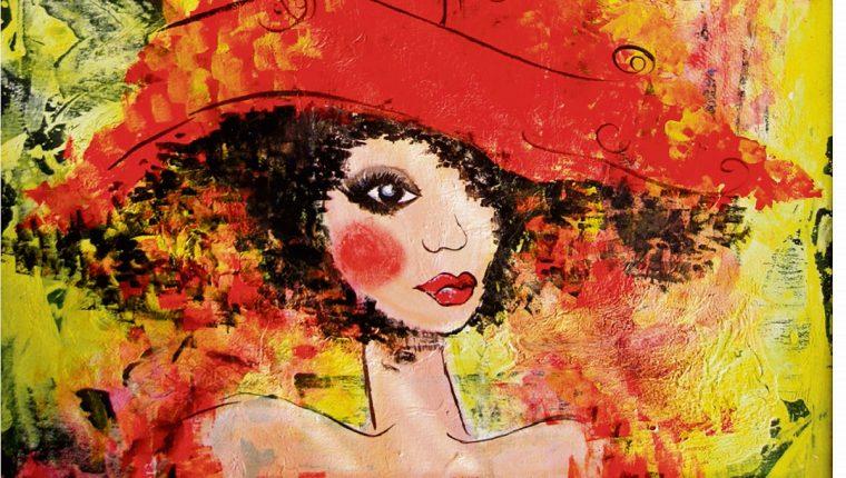 La obra Rojo, de Jimena Soto, es una de las que se expondrán en la Enap. Inserto, Marvin Olivares.