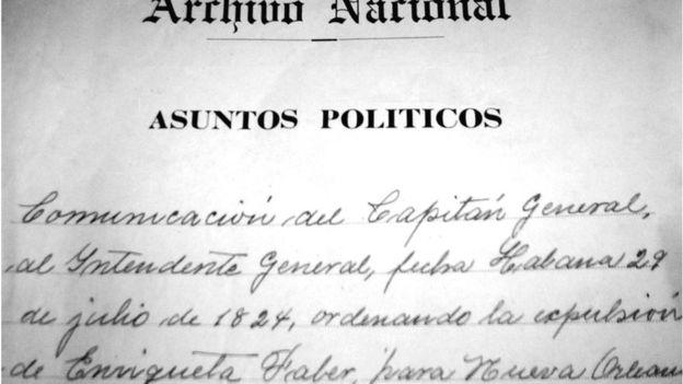 En el Archivo Nacional de Cuba se conservan los documentos del juicio y la deportación de Enriqueta Favez. (Foto: Cortesía de Julio César González Pagés)