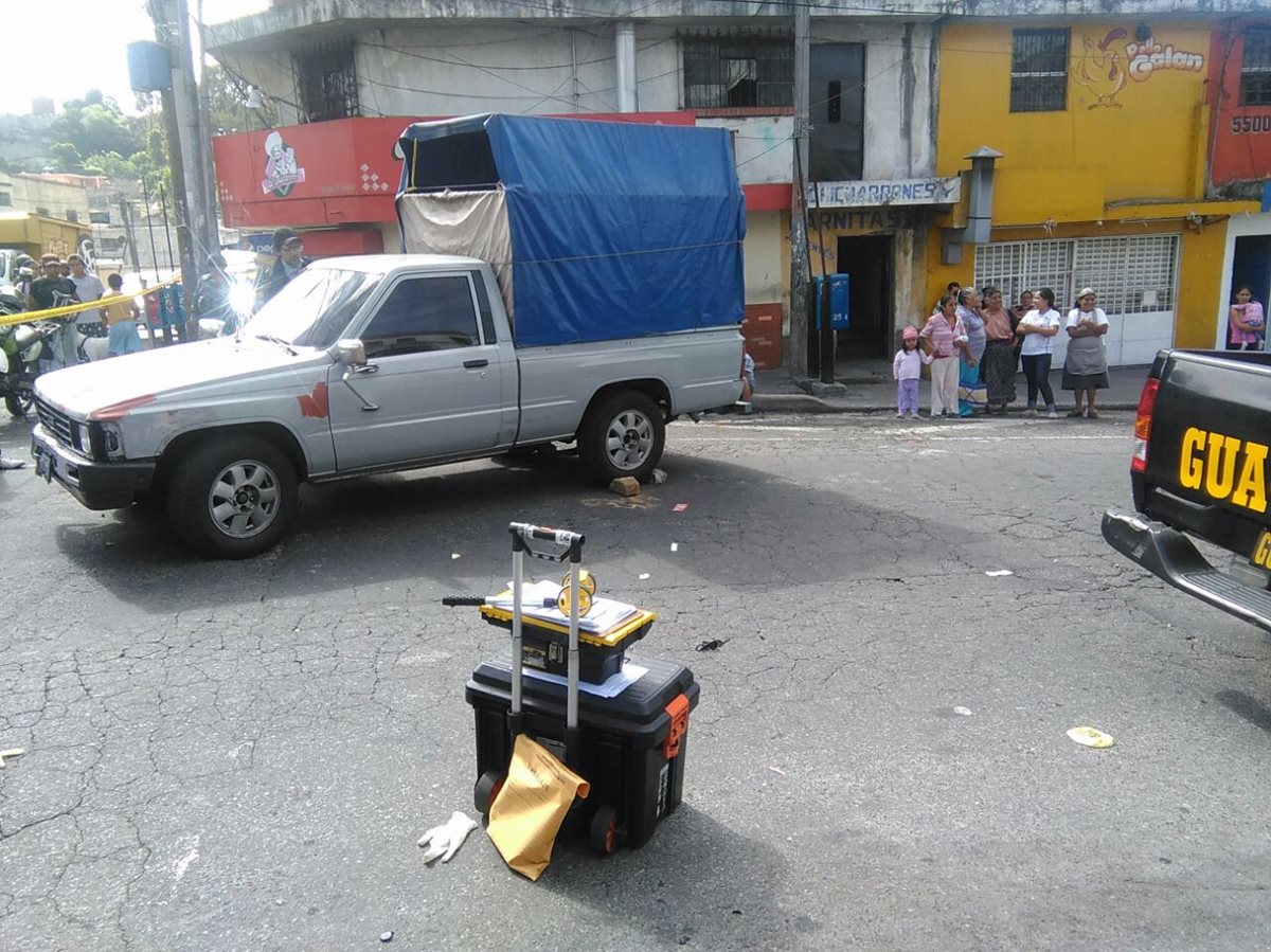 Matan a trabajador de Salud en la zona 18