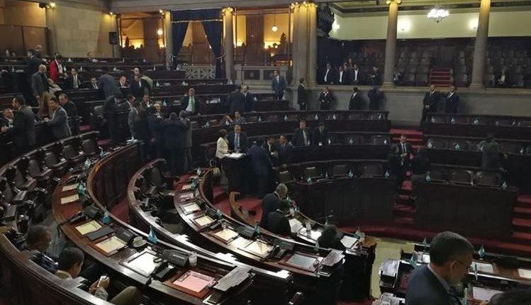 El dictamen de transfuguismo podría ser agendado en cualquier momento para que sea conocido por el pleno. (Foto Prensa Libre: Hemeroteca PL)