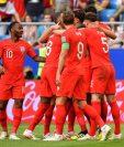 La selección de Inglaterra se clasificó a las semifinales de la Copa del Mundo Rusia 2018. (Foto Prensa Libre: AFP)