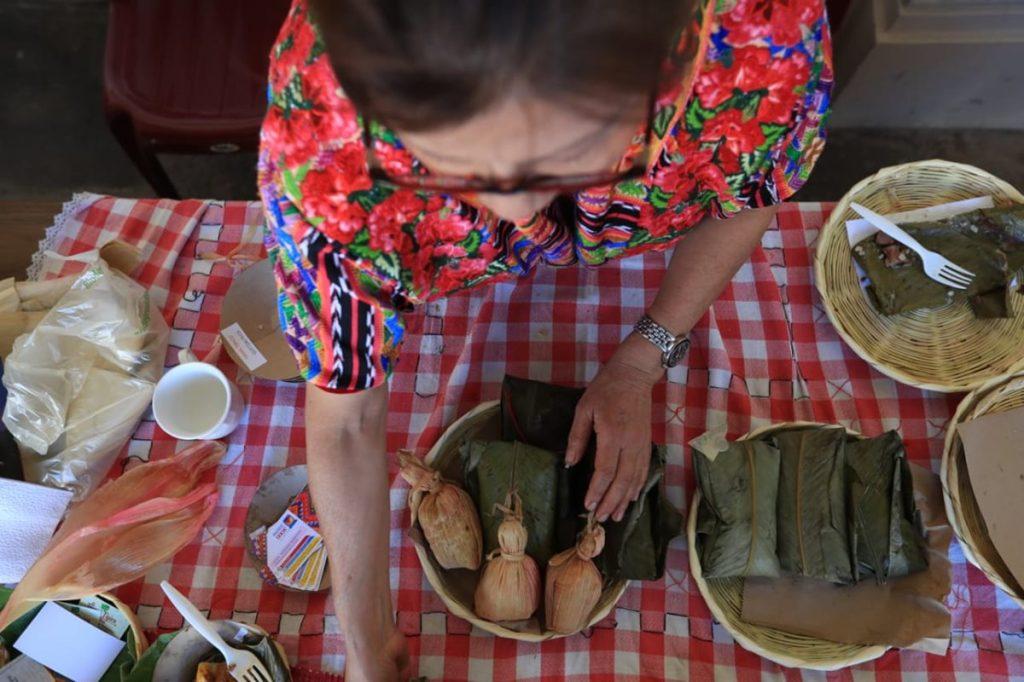 La comida quetzalteca es algo muy característico de la región y por ello se promueve en esta exposición.