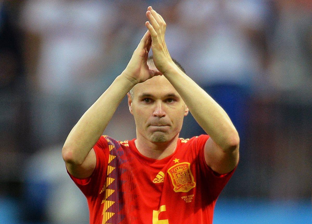 Andrés Iniesta le dice adiós a la selección española