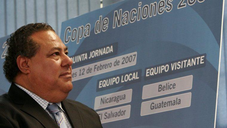 El exdirigente Julio Rocha habría aceptado su culpabilidad en el caso Fifa. (Foto Prensa Libre: Hemeroteca PL)