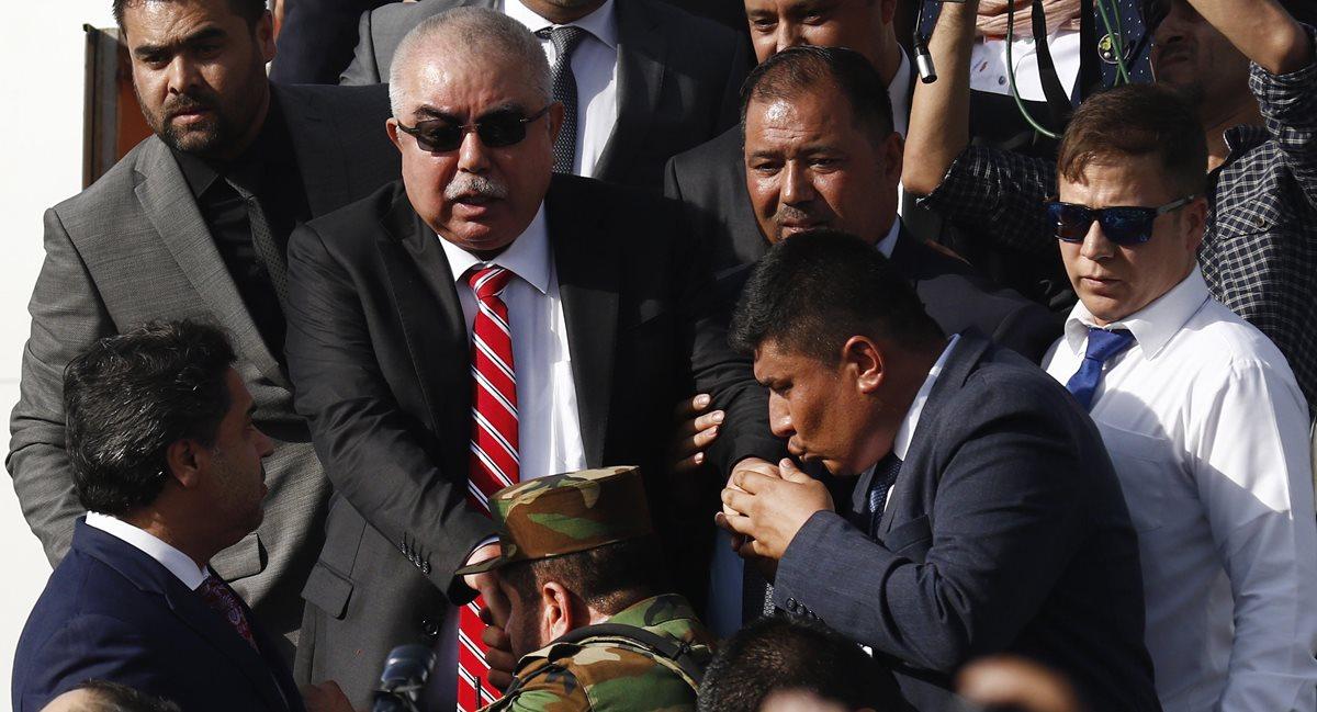 Yihadistas atentan contra el vicepresidente afgano