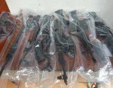 Autoridades incrementaron las medidas de seguridad en la frontera con El Salvador por el tráfico de armas. (Foto Prensa Libre: Hemeroteca PL)