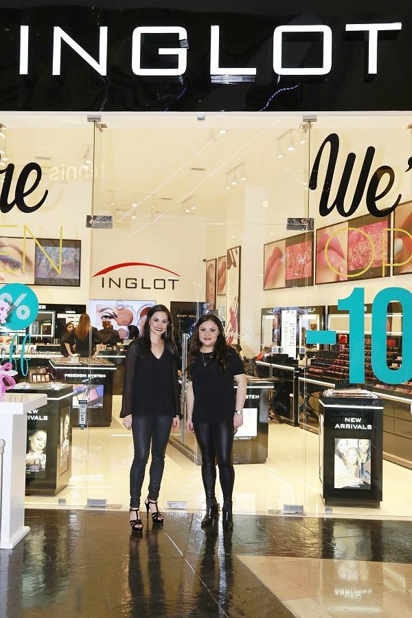 Inglot abre sus puertas en Oakland Mall
