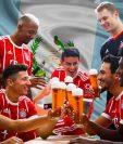 El campeón de la Bundesliga alemana Bayern Múnich felicitó a Guatemala en su 196 aniversario de libertad. (Foto Prensa Libre: @fcbayern.es)