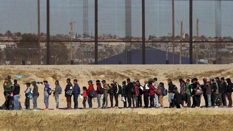 La migración desde Centroamérica aumentó exponencialmente entre 2018 y 2019. (Foto Prensa Libre: Hemeroteca PL)