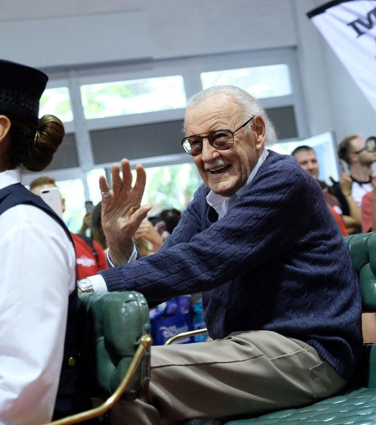 Stan Lee es reconocido como uno de los principales creativos de Marvel (Foto Prensa Libre: AFP).