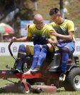 Ángel Cabrera y Eduardo Soto continuarán con Cobán Imperial la próxima temporada. (Foto Prensa Libre: Eduardo Sam Chun)