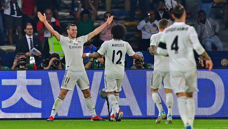 El galés Gareth Bale se mete en la historia de los mundiales de clubes. (Foto Presa libre: AFP)