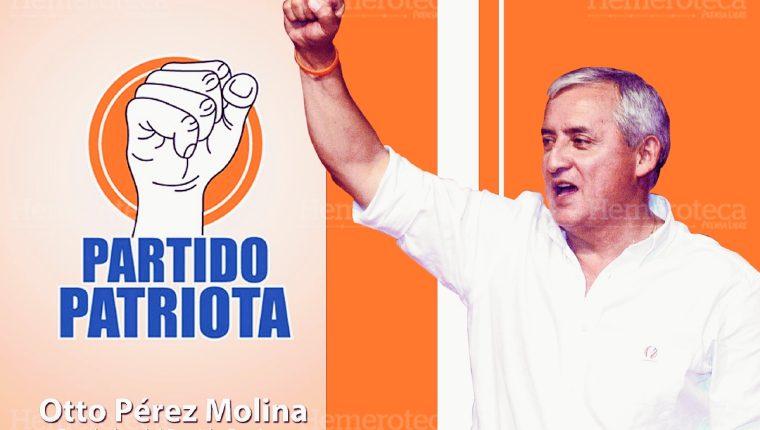 Otto Pérez Molina, fundador del Partido Patriota (Fotoarte: Hugo Cuyán)