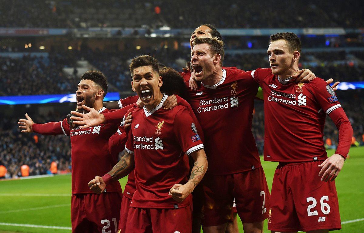 Liverpool jugará semifinales de Champions después de diez años, luego de haber eliminado al City