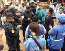 Manifestaciones en contra de proyecto minero se intensificaron en los últimos días. (Foto Prensa Libre: Hemeroteca)