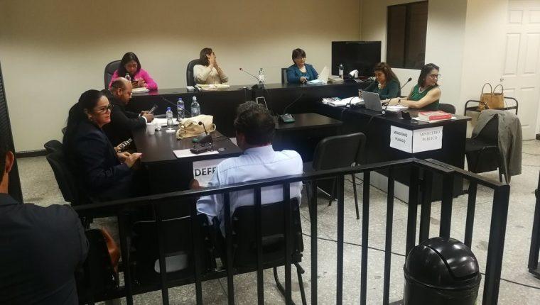 El Tribunal Undécimo Penal fijó para el 26 de septiembre próximo la lectura de la sentencia. (Foto Prensa Libre: Kenneth Monzón)