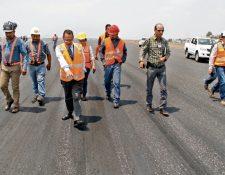 Los trabajos de reparación de la pista del Aeropuerto Internacional La Aurora comenzarán el próximo 22 de mayo y terminarán el 15 de septiembre próximo.