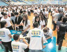 El voluntariado es medido en la evaluación a nivel mundial. (Foto Prensa Libre: Hemeroteca PL)