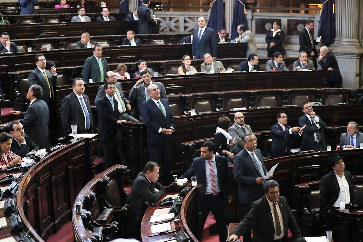 El Congreso de la República aprobó el decreto 8-2018 que contiene las reformas al Código Civil. (Foto Prensa Libre: Esbin García)