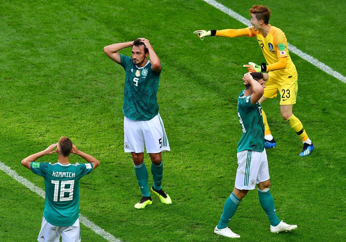 Alemania, el campeón del mundo, queda eliminado contra una sorpresiva Corea del Sur