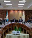 Los integrantes del Gabinete Económico conocieron las propuestas de enmiendas a la Ley de Zonas Francas, que serán enviadas al Congreso. (Foto Prensa Libre: Cortesía)