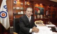 Entrevista al candidato a la presidencia Mario Estrada por el Partido UCN.  Foto: Edwin Berci?n