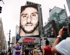 La campaña de Nike con Colin Kaepernick ha sido una de las más polémicas. (Foto Prensa Libre: EFE)