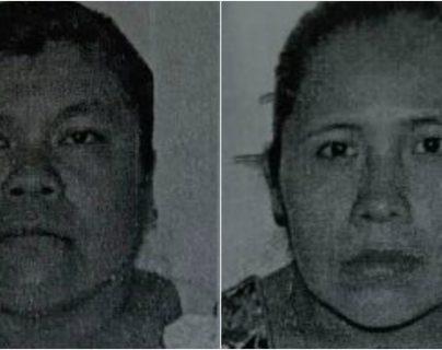 Irma Dondiego, de 48 años, y Elena Chiquín Pérez Beb, de 32 años y madre del bebé, fueron capturadas por trata. (Foto Prensa Libre: Hemeroteca PL)
