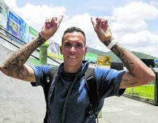 El panameño jugó un año con Municipal pero no logró cumplir con las expectativas. (Foto Prensa Libre: Norvin Mendoza)