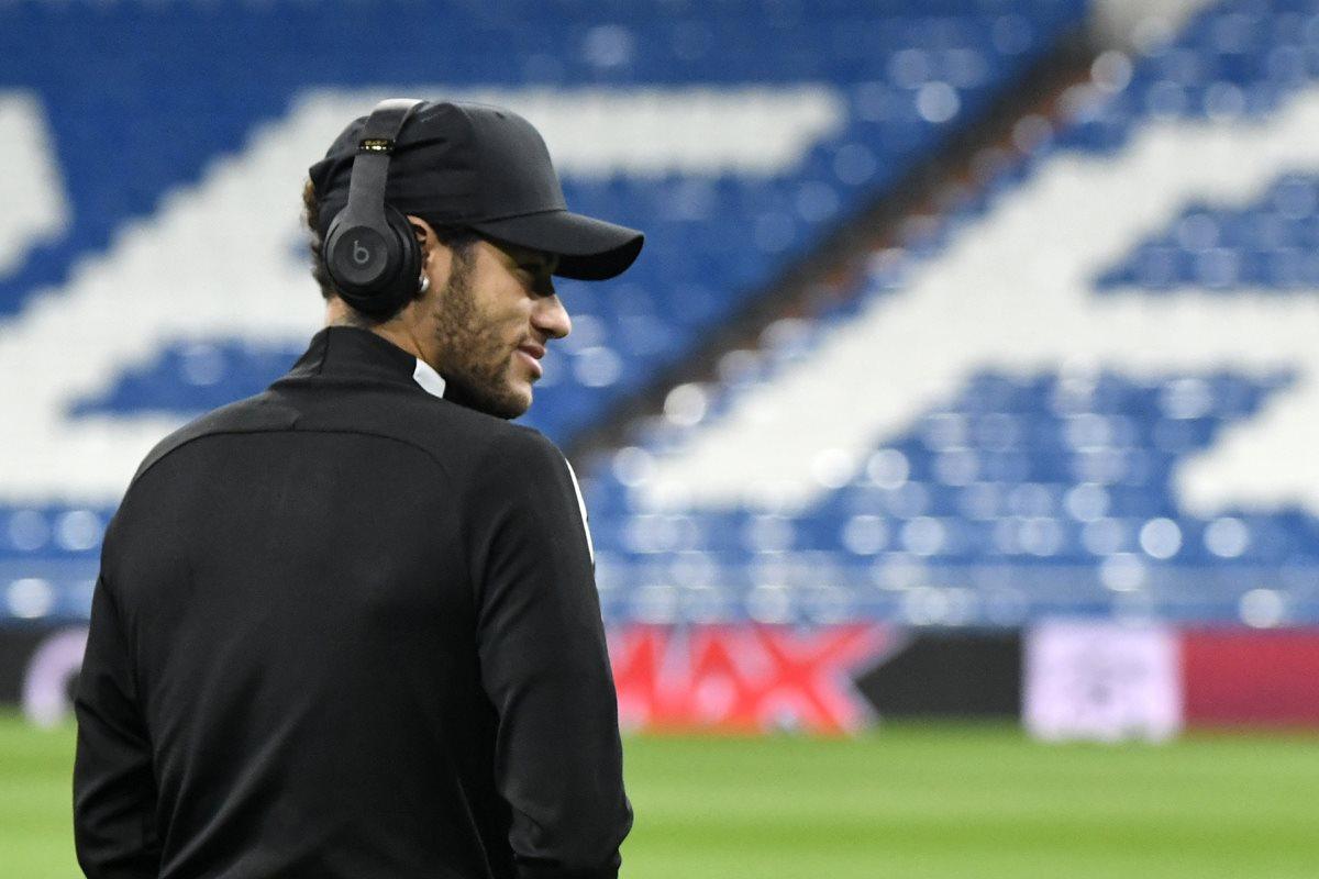 Neymar buscará liderar al PSG a los cuartos de final de la Liga de Campeones de Europa. (Foto Prensa Libre: AFP)