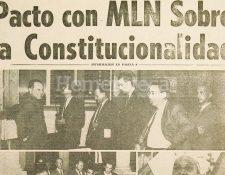 Diputados del MLN retrasaron la aprobación de la Carta Magna de 1965. (Foto: Hemeroteca PL)