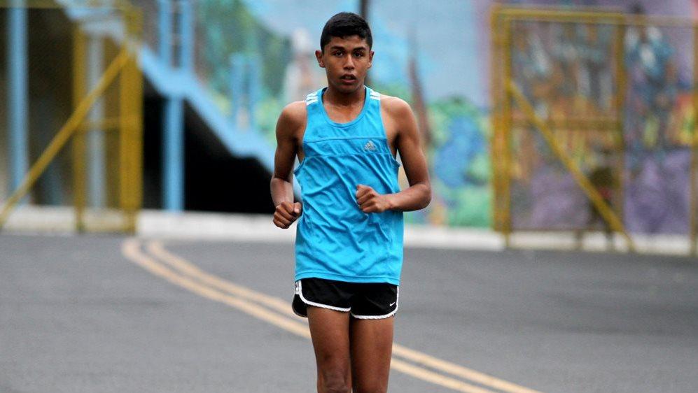 José Ortiz tiene muchas metas por cumplir en la marcha. (Foto Prensa Libre: COG)