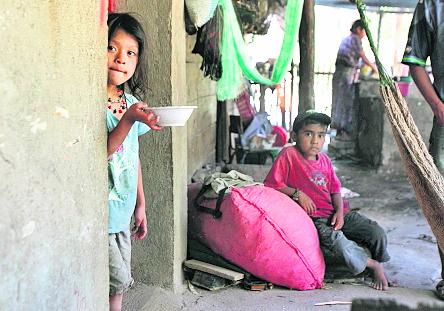 Alta Verapaz encabeza el listado de departamentos donde se registra el índice más alto de pobreza en el país. (Foto Prensa Libre: Hemeroteca PL)