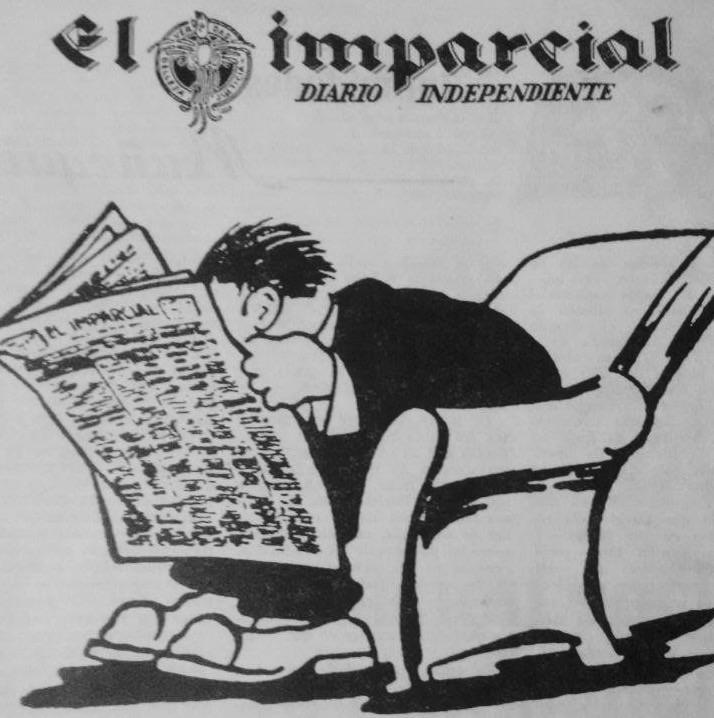 1943 El muñequito caricatura del diario El Imparcial. (Foto: Hemeroteca PL)