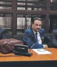 Rodrigo Arenas y José Botran en audiencia acusados de financiamiento electoral ilícito. (Foto Prensa Libre: Archivo)