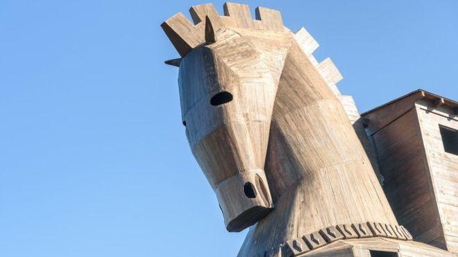 Todos oímos hablar del famoso caballo de Troya. Pero ¿existió esa ciudad y la guerra narrada en la Ilíada y la Odisea? (GETTY IMAGES)