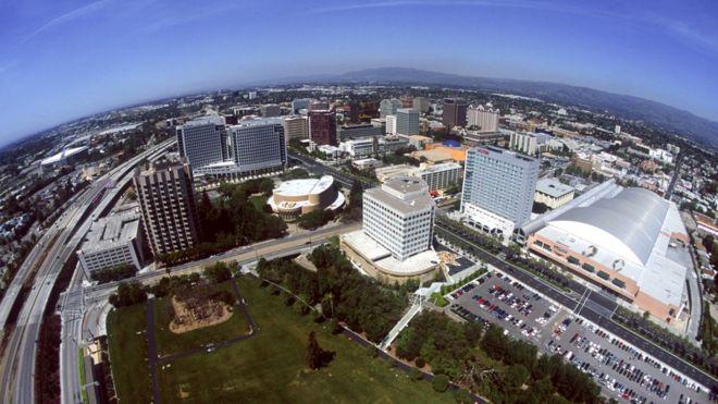 Google quiere convertir San José en su sede central y para ello está invirtiendo en un proyecto multimillonario. DAVID MCNEW/GETTY IMAGES