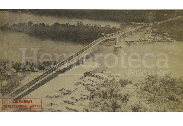 1980: puente sobre Río Dulce trajo desarrollo a la región